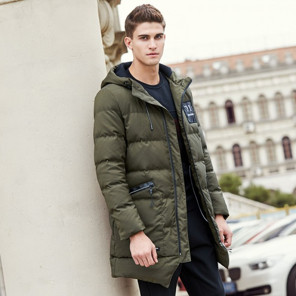 Long thicken winter down jacket men brand clothing warm duck down coat male top quality men down parkas coats for men Extra Image 3