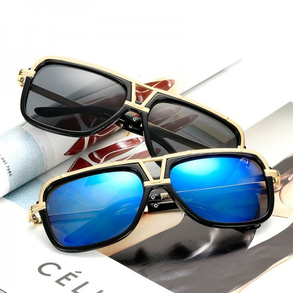 Luxury Oversized Men Top Quality Sunglasses Women Sun Glasses Square Male Retro Vintage Sunglasses For Men Extra Image 6