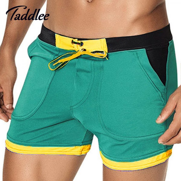 Man Swimwear Beach Board Shorts Swim Trunks For Men High Quality Bathing Suits Boxers Gay Wear For Summers Extra Image 1
