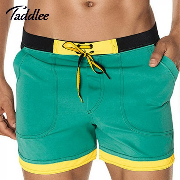 Man Swimwear Beach Board Shorts Swim Trunks For Men High Quality Bathing Suits Boxers Gay Wear For Summers Extra Image 2