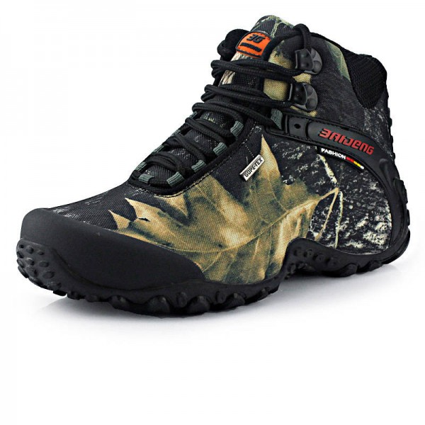 Martin Boots Military Waterproof Combat Hunting Tactical Camouflage Shoes Men Thumbnail