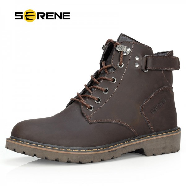 Men Boots Plus Size 37 45 Winter Boot Casual Shoes British Style Tooling Boots Desert Boots Working Male Footwear Shoes Extra Image 2