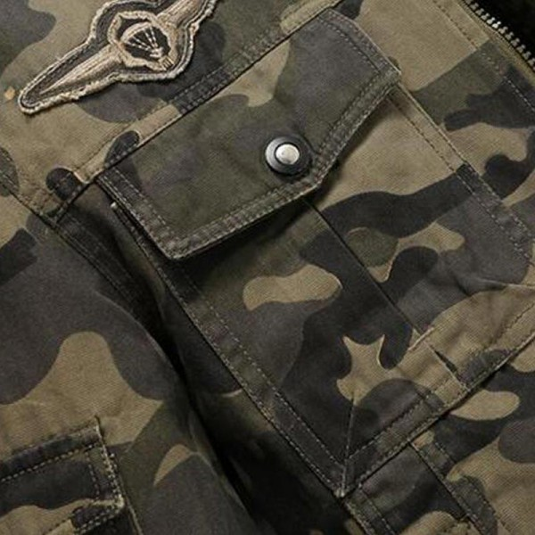 Men Camouflage Jackets New Arrival Spring  Autumn Straight High Quality Military Coats Plus Male Outwear Extra Image 5