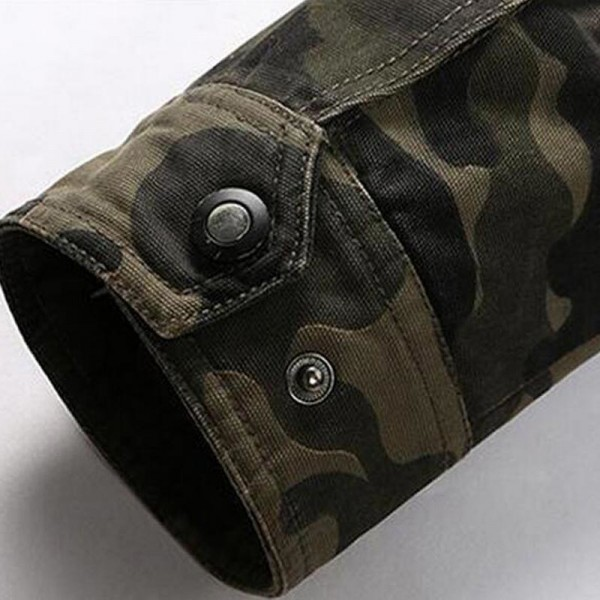Men Camouflage Jackets New Arrival Spring  Autumn Straight High Quality Military Coats Plus Male Outwear Extra Image 6