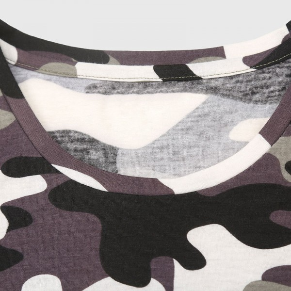Men Camouflage T Shirt Camo Male Army Military T Shirt Casual Top Tees Men Tshirts Menswear Cool Summer Wear Extra Image 4