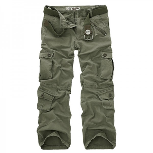 Men Cargo Pants High Quality Camouflage Pants Fashion Military Trousers Summer Spring Casual Brand Clothing Extra Image 4