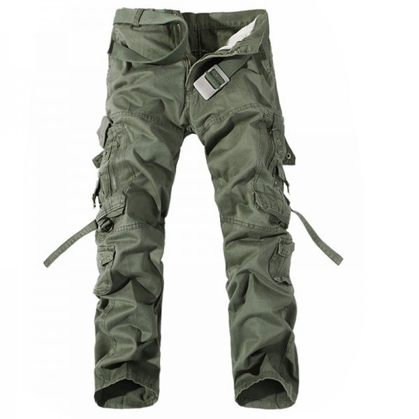 Men Cargo Pants Hot Sale Plus Size Military Trousers Army Clothing Brand Casual Pants Fashion Cargo Pants Men 6 Colors