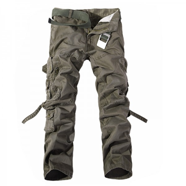 Men Cargo Pants Hot Sale Plus Size Military Trousers Army Clothing Brand Casual Pants Fashion Cargo Pants Men 6 Colors Extra Image 5