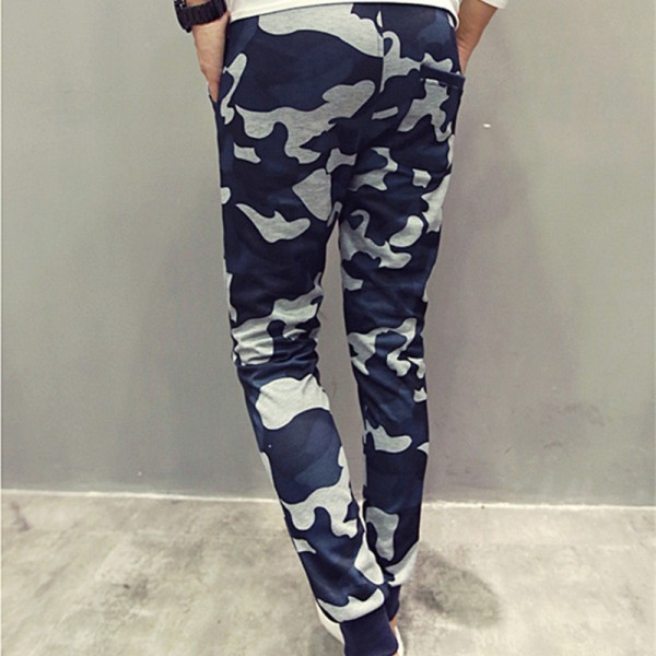 Men Casual Pants New Camouflage Slim Fit Army Camouflage Trousers Pencil Camo Pants Hip Hop Sweatpants Military Joggers Extra Image 3