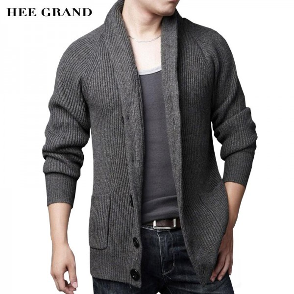 Men Casual Sweater 2018 New Arrival Thick Warm Autumn Winter Male Single Breasted Cardigan Masculino Plus Size Extra Image 1