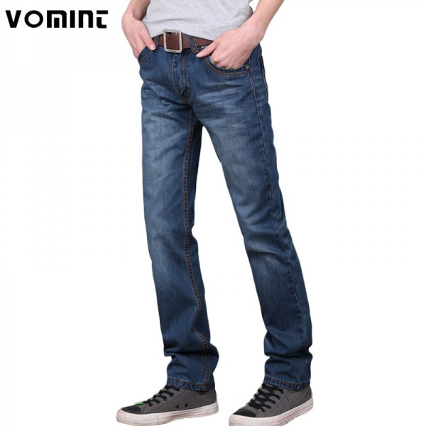 Men jeans pants Dark Wash Jeans Casual ripped jeans for men Effect Stonewashed High Quality Jeans Denim male