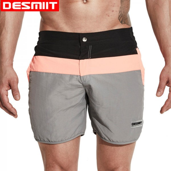 Men Surf Swimming Shorts for Men Swim Wear Board Short Beach Trunks 2018 Summer Zipper Closure Leisure Swimsuit Extra Image 1