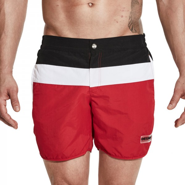 Men Surf Swimming Shorts for Men Swim Wear Board Short Beach Trunks 2018 Summer Zipper Closure Leisure Swimsuit Extra Image 5