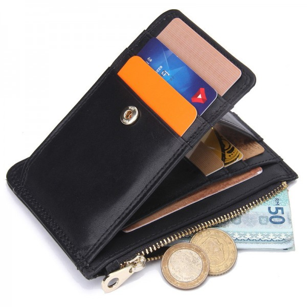 2019 Credit Coin Mens Card Leather Wallet Long Holder Soft NEW Purse Fashion Hot