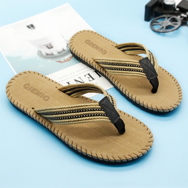 Mens Outdoor Slippers Household Casual Slippers Beach Style Sandals For Men Massage Comfortable Slippers Extra Image 4