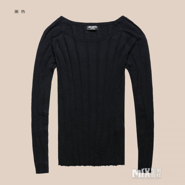 Mens Pullover tops Casual long sleeve shirts Brand Autumn O neck bottoming sweatshirt Men Cotton knitwear Sweaters Extra Image 4