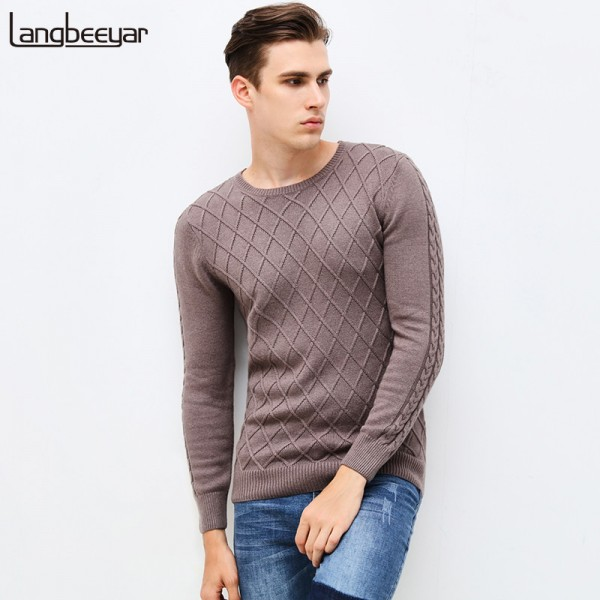 Mens Sweaters Cardigans New Autumn Winter Fashion Brand Mens Clothing High Quality Pullover Tees Knitted For Men Extra Image 3