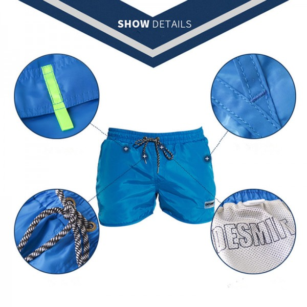 Mens Swimwear Swim Shorts Men Swimming Trunks Light Thin 2018 Desmiit Swim Wear Quick Dry Plus Size Extra Image 3