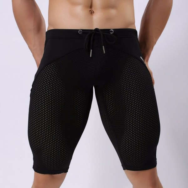 e0097186a3e ... Mesh Swimwear Brave person Swim Wear Shorts Swimming Trunks  Multifunction Sport Shorts Sexy Swimsuit Briefs Extra ...