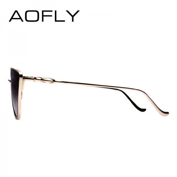 Metal Frame Cat Eye Women Sunglasses Female Sunglasses Famous Brand Designer Alloy Legs Glasses oculos de sol Extra Image 4
