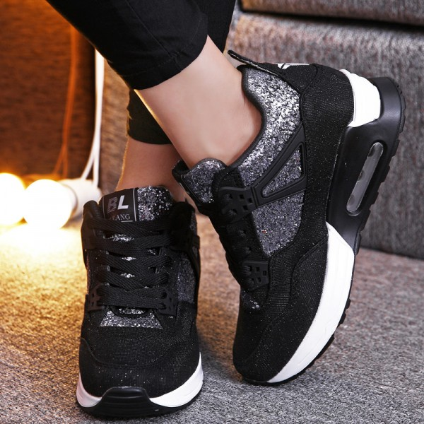 New 2018 Ankle Boots High Heel Shoes For Women Height Increasing Top Class Casual Shoes Boots For Ladies Extra Image 5