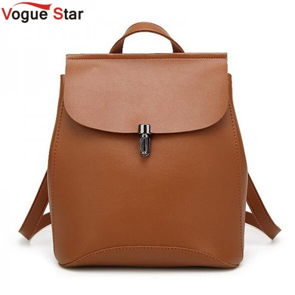 New 2018 Women Backpacks Hot Sale Casual Bags High Quality Female Shoulder Bag Pu Leather College Backpacks For Girls Extra Image 1