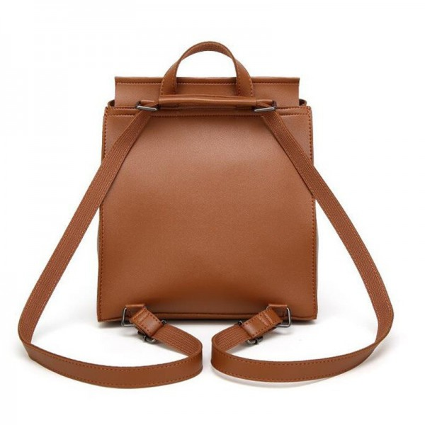 New 2018 Women Backpacks Hot Sale Casual Bags High Quality Female Shoulder Bag Pu Leather College Backpacks For Girls Extra Image 4