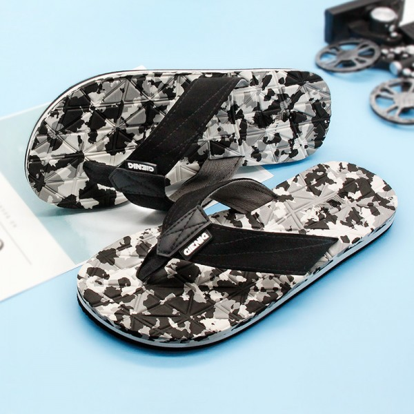 New Arrival 2018 Slippers For Men High Quality Flip Flops New Summer Style Household Outdoor Sandals For Males Extra Image 1