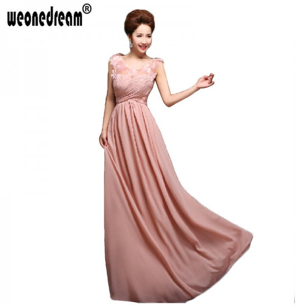 New Arrival Bridesmaid Dress Irregular Prom Gown Formal Party Dress Pleated Formal Dress Elegant Design Thumbnail