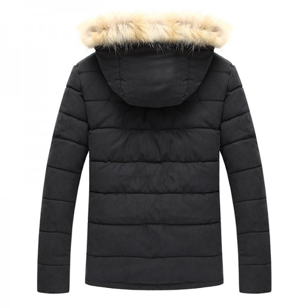New Arrival Mens Coat Thick Warm Winter Outwear High Quality Outdoors Parkas 3 Colors Plus Size Male Outfit Extra Image 2