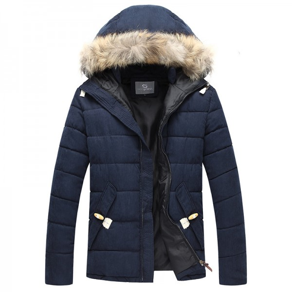 New Arrival Mens Coat Thick Warm Winter Outwear High Quality Outdoors Parkas 3 Colors Plus Size Male Outfit Extra Image 5