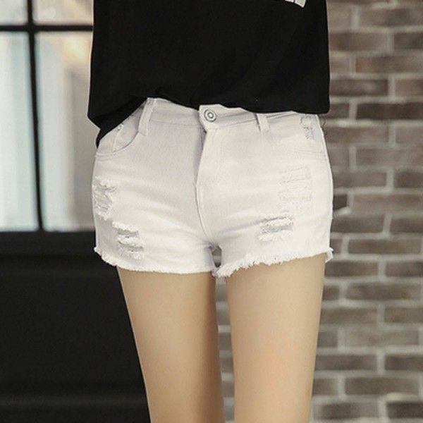 New Arrival Summer Shorts Tassel High Waist Denim Shorts For Women Summer Shorts Jeans Best Quality For Women Thumbnail