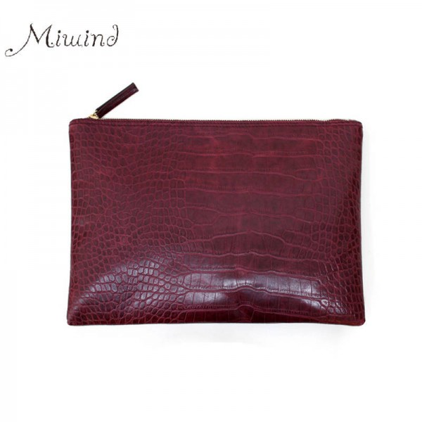New Arrival Women Handbags Sling Summer Leather Envelope Clutch Crocodile Black Cool High Quality Clutch Thumbnail