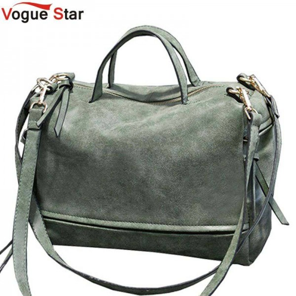 New Arrival Women Shoulder Bags Nubuck Leather Vintage Messenger Bags Motorcycle Bags Women Thumbnail