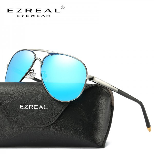 New Brand Polarized Sunglasses Men Classic Retro Pilot Glasses Color Polaroid Lenses Driving Women Sunglasses