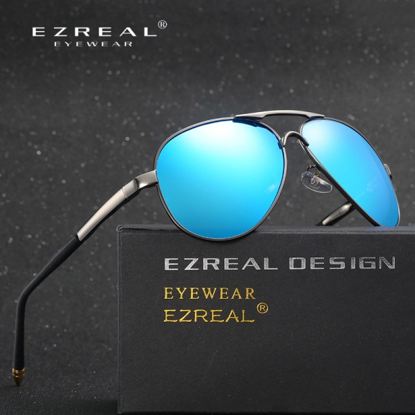 New Brand Polarized Sunglasses Men Classic Retro Pilot Glasses Color Polaroid Lenses Driving Women Sunglasses Extra Image 4