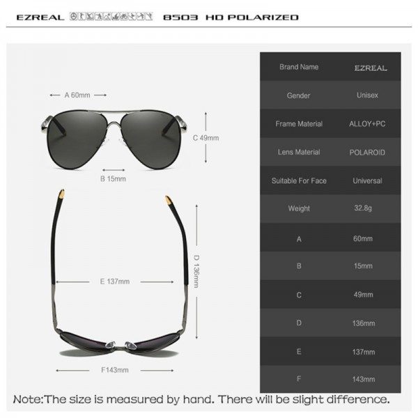 New Brand Polarized Sunglasses Men Classic Retro Pilot Glasses Color Polaroid Lenses Driving Women Sunglasses Extra Image 6