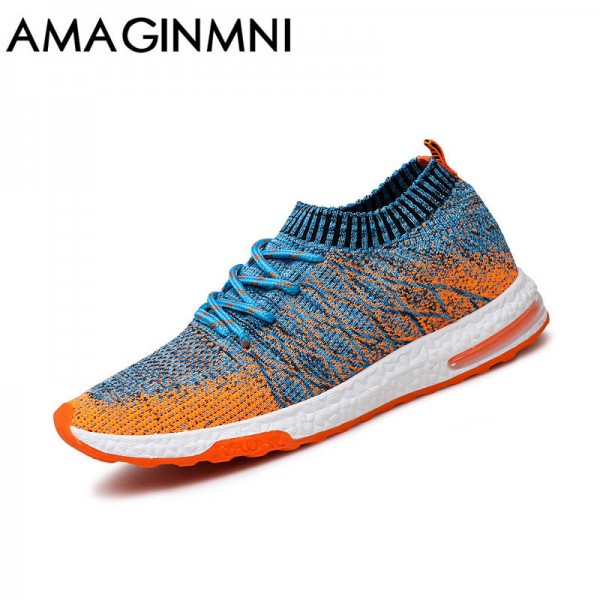 New Breathable Mesh Summer Men Casual Shoes Slip On Male Fashion Footwear Walking Unisex Couples Shoes Mens Extra Image 1