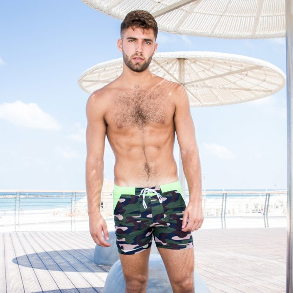 New Camo Swimming Surfing Shorts Swim Boxer Basic Camo Taddlee Swimwear Plus Size Boxer Trunks For Males Extra Image 4