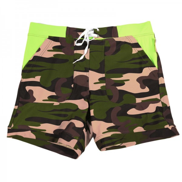 New Camo Swimming Surfing Shorts Swim Boxer Basic Camo Taddlee Swimwear Plus Size Boxer Trunks For Males Extra Image 6