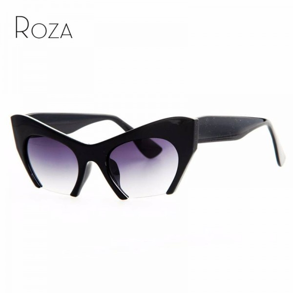 New Cat Eye Hot Selling Fashion Sunglasses For Women Eyewear Hot UV400 Eye Shades For Ladies Cat Eye Design