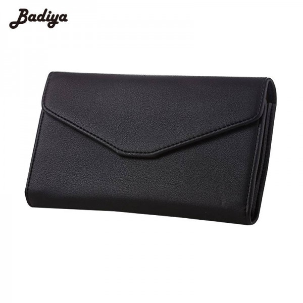New Fashion Envelope Wallet Purse Pu Leather Designer Wallet For Women Travel Phone Purse Ladies Thumbnail