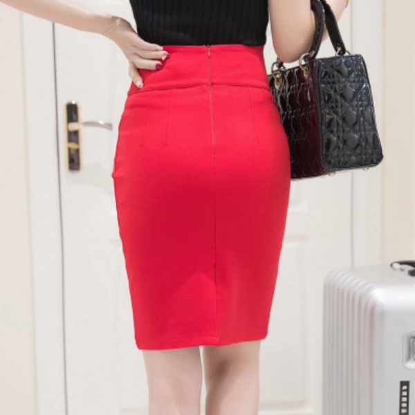 2347e17f3 New Fashion Office Ladies Skirts Bandage Bodycon Summer Spring For Women