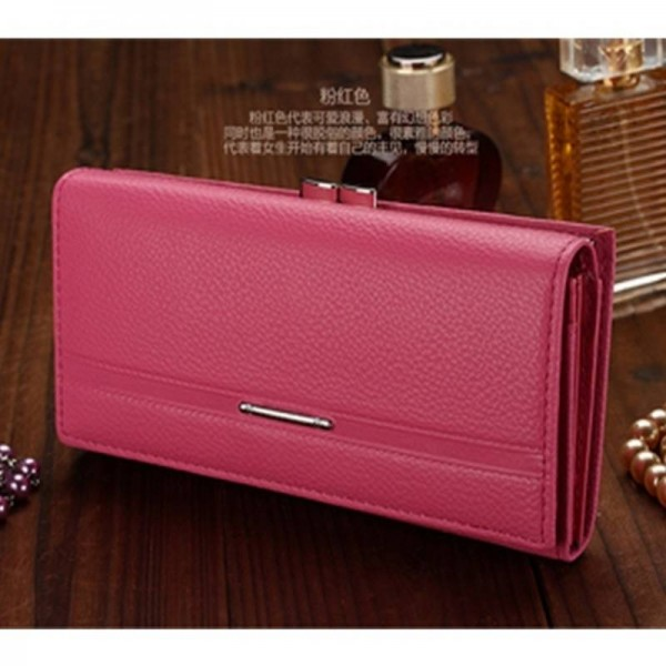 576a4b771b89 New Fashion Simulated Leather Wallets Long Design Women Clutch Coin Purse  Embossed Handbag