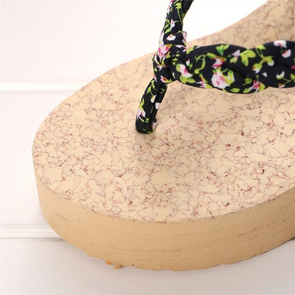 New Fashion slippers Women Flip flops Slippers Beach Sandals Platform Summer Shoes High heels Shoes For Women Extra Image 5