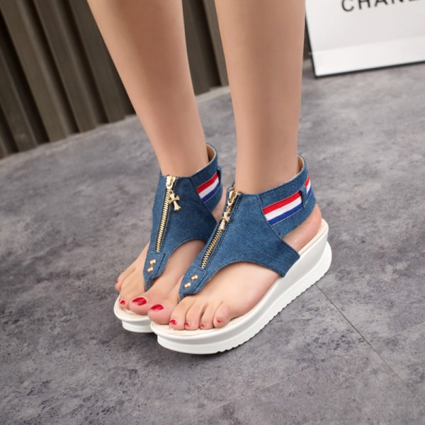 New Female Sandals Flat Heel Open Toe Cool Summer Slippers Casual Designer Shoes For Ladies Cheap Sandals Extra Image 2