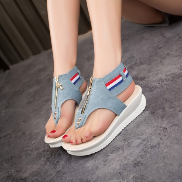 Buy New Female Sandals Flat Heel Open Toe Cool Summer