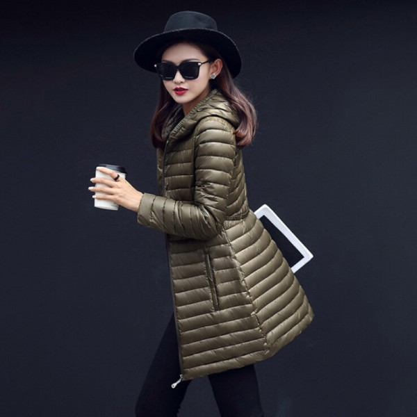 New Hooded Women Parka Cotton Padded Winter Jacket Coat Women Slim Womens Jackets Clothing Female Outerwear Extra Image 2
