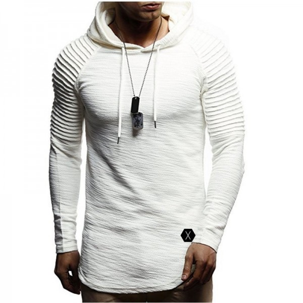 New Hoodie Solid Color New Mens Hoodie Brand Fashion Mens Solid Color Sweatshirt Mens Autumn Pullover XXXL Extra Image 3