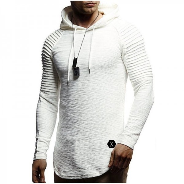 New Hoodie Solid Color New Mens Hoodie Brand Fashion Mens Solid Color Sweatshirt Mens Autumn Pullover XXXL Extra Image 4